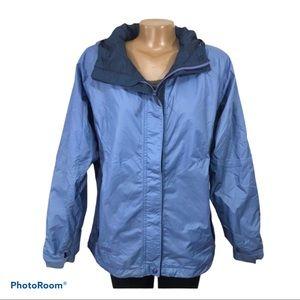 Columbia sportswear Packable Omni Tech Hooded Lrge